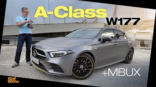 The New A-Class W177 / Test Drive & Review (German)