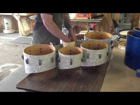 How to modify Pearl Marching tenors - cut down