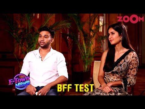 Katrina Kaif and Ali Abbas Zafar play a fun BFF quiz | Bharat | Exclusive