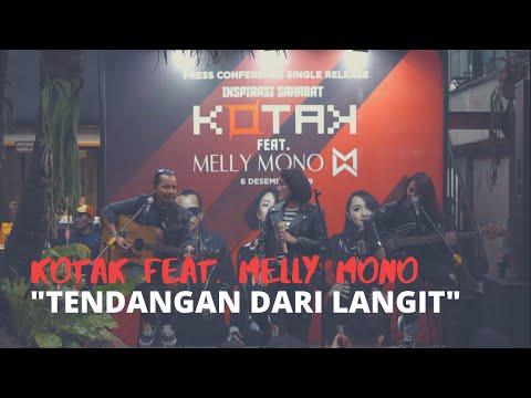 Download  KOTAK feat Melly Mono – Tendangan Dari Langit Live Performance Gratis, download lagu terbaru
