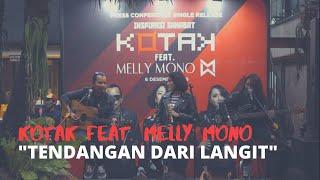 Download lagu KOTAK feat Melly Mono – Tendangan Dari Langit (Live Performance)