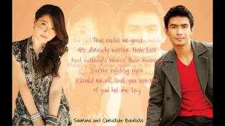 Terrified (Lyric Video) - Sabrina and Christian Bautista