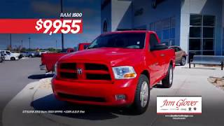 Jim Glover Dodge Chrysler Jeep Ram Fiat - Fresh PreOwned Vehicles in Stock!