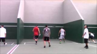 3 Wall Big Ball Handball - Gilbert Rosales/Eddy Jocol vs Juan Santos/Kevin Gonzalez 1st Game