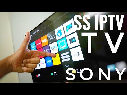 SS IPTV NAS TVS SONY! AGORA SIM!