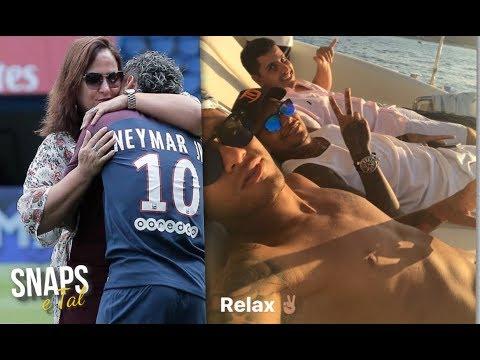 Neymar mostrando como anda sua vida agora