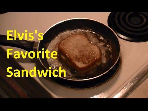 Elvis Crunchy Fried Peanut Butter And Banana Sandwich Youtube