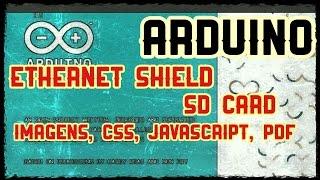 Arduino - Ethernet Shield + SDCard + Arquivos (imagens, css, javascript, pdf...)