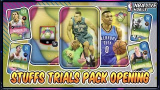 101 OVR Aaron Gordon Stuffs Trials Packs | NBA Live Mobile 20 S4 Stuff's Trials Pack Opening!