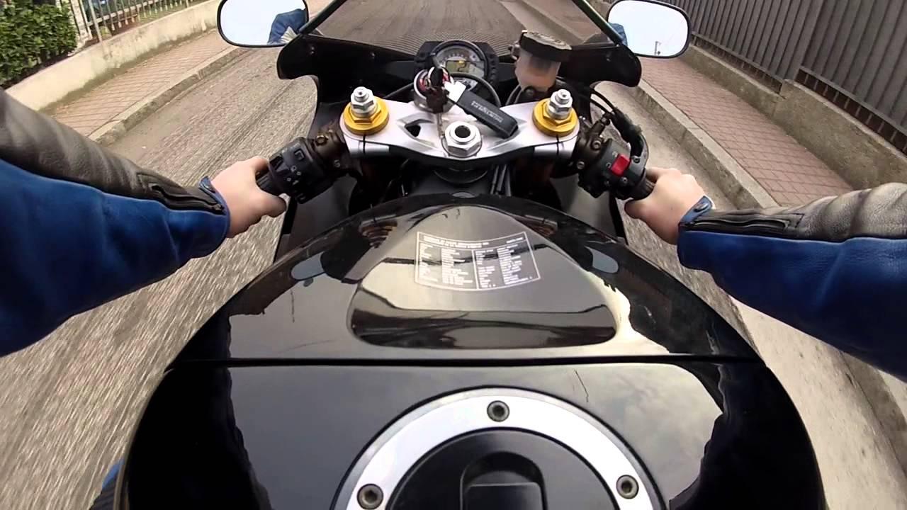 1 Prova Kawasaki Ninja 636 Youtube