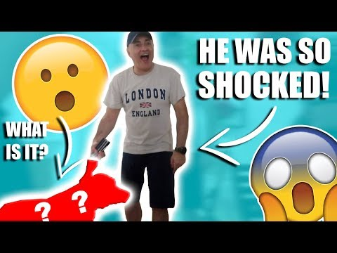 GIVING MY FATHER IN LAW A SURPRISE PRESENT! *BEST REACTION!*