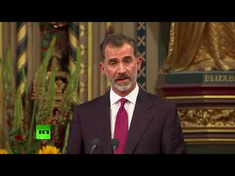 "King Felipe VI: ""We're your friends & allies"""