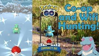 Totodile Community Day Shiny Hunting - Pokemon Go!