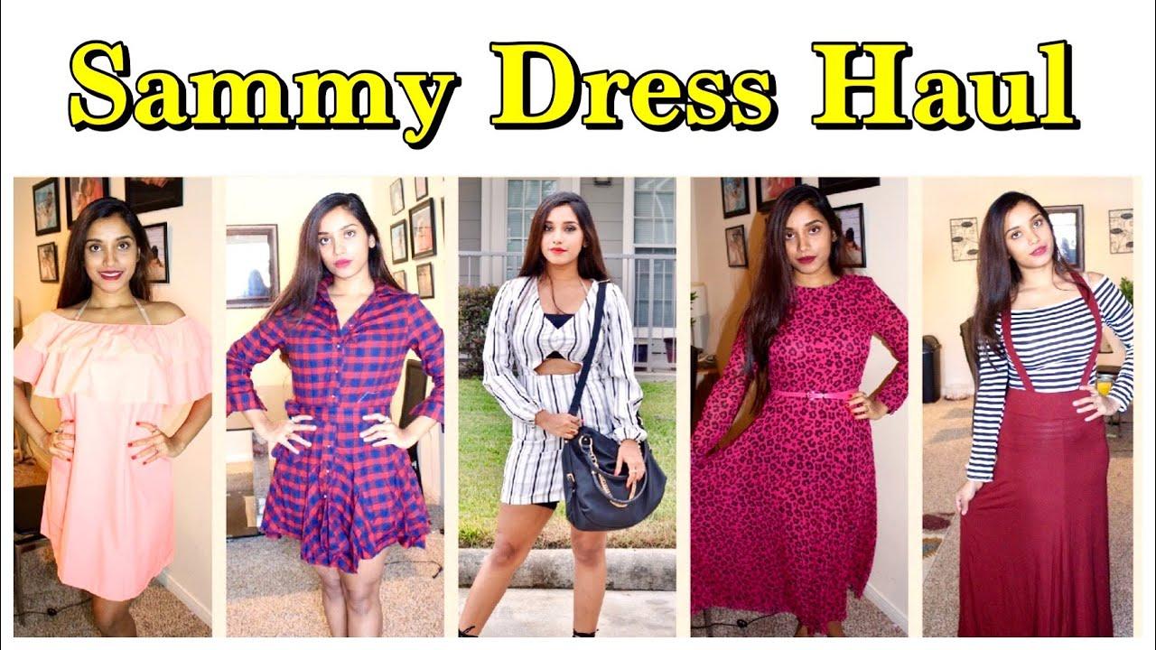 15e9a54f99 Online store Sammy dress try on haul