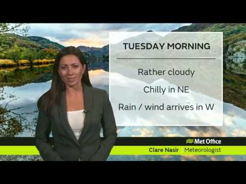 Tuesday Morning Forecast | Scotland | 16/10/18