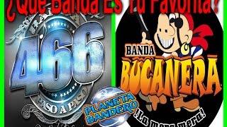 Mano A Mano Banda 466 vs Banda Bucanera En Vivo