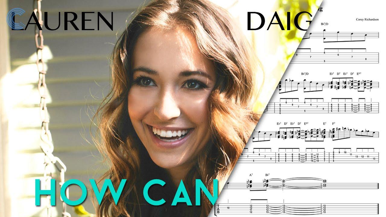 Lauren Daigle >> Piano - How Can It Be - Lauren Daigle - Sheet Music