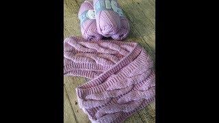 вязание спицами красивый снуд на девочку