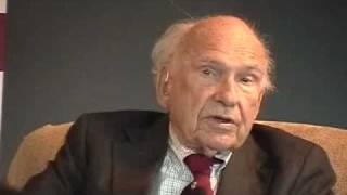 James MacGregor Burns & Warren Bennis discuss moral leadership