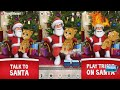 Talking Larry the Bird Talking Santa Meets Ginger Android İos Gameplay Video
