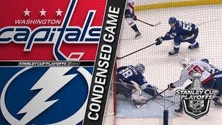 Washington Capitals vs Tampa Bay Lightning ECF, Gm2 May 13, 2018 HIGHLIGHTS HD
