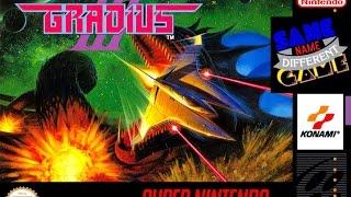 Same Name, Different Game: Gradius III (SNES vs. Arcade)