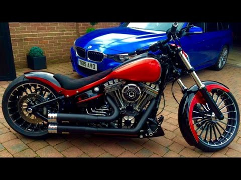 BEST CUSTOM OF HARLEY DAVIDSON BREAKOUT (PART 6) - YouTube