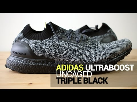 adidas-ultra-boost-uncaged-triple-black---unboxing,-on-feet,-&-overview