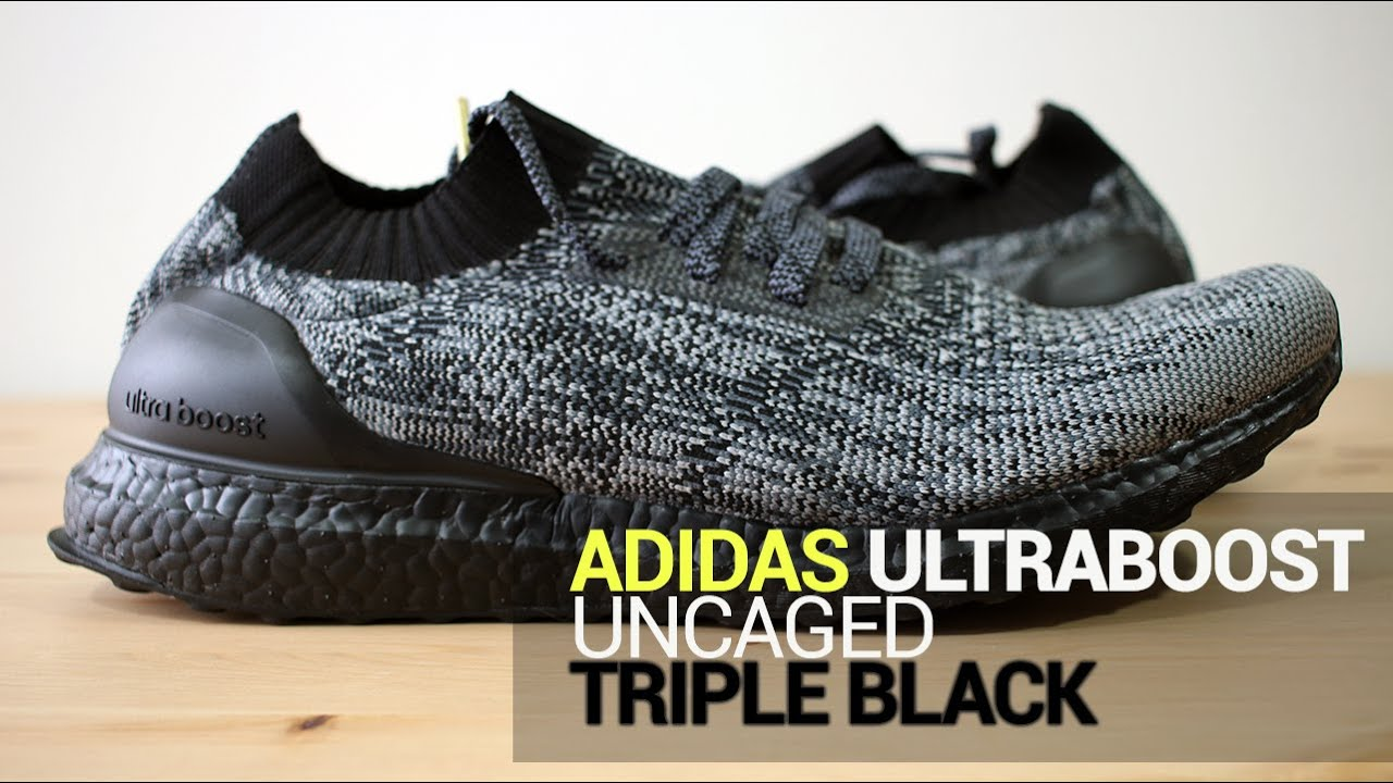 Ultra Boost Uncaged Triple Black