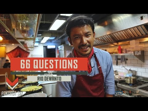 66 QUESTIONS Foxtrot Six with RIO DEWANTO