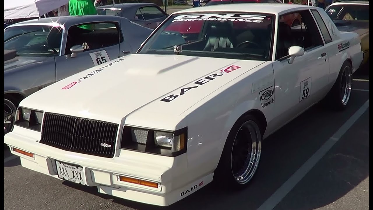 1986 Buick T Type American Street Car Series Youtube