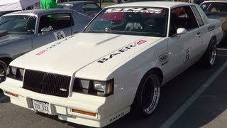 1986 Buick T-Type American Street Car Series