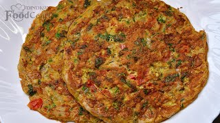Masala Omelette/ Spicy Omelet Recipe