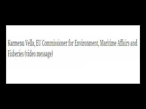 Karmenu Vella, EU Commissioner for Environment, Maritime Affairs and Fisheries