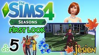 """First Look: THE SIMS 4: Cztery Pory Roku [5/x] - """"Zabawy w liściach i Święto Zbiorów"""""""