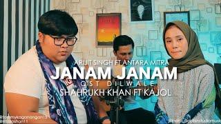 janam janam - dilwale | Shahrukh khan ft kajol | cover by Tommy Kaganangan ft Rita roshan