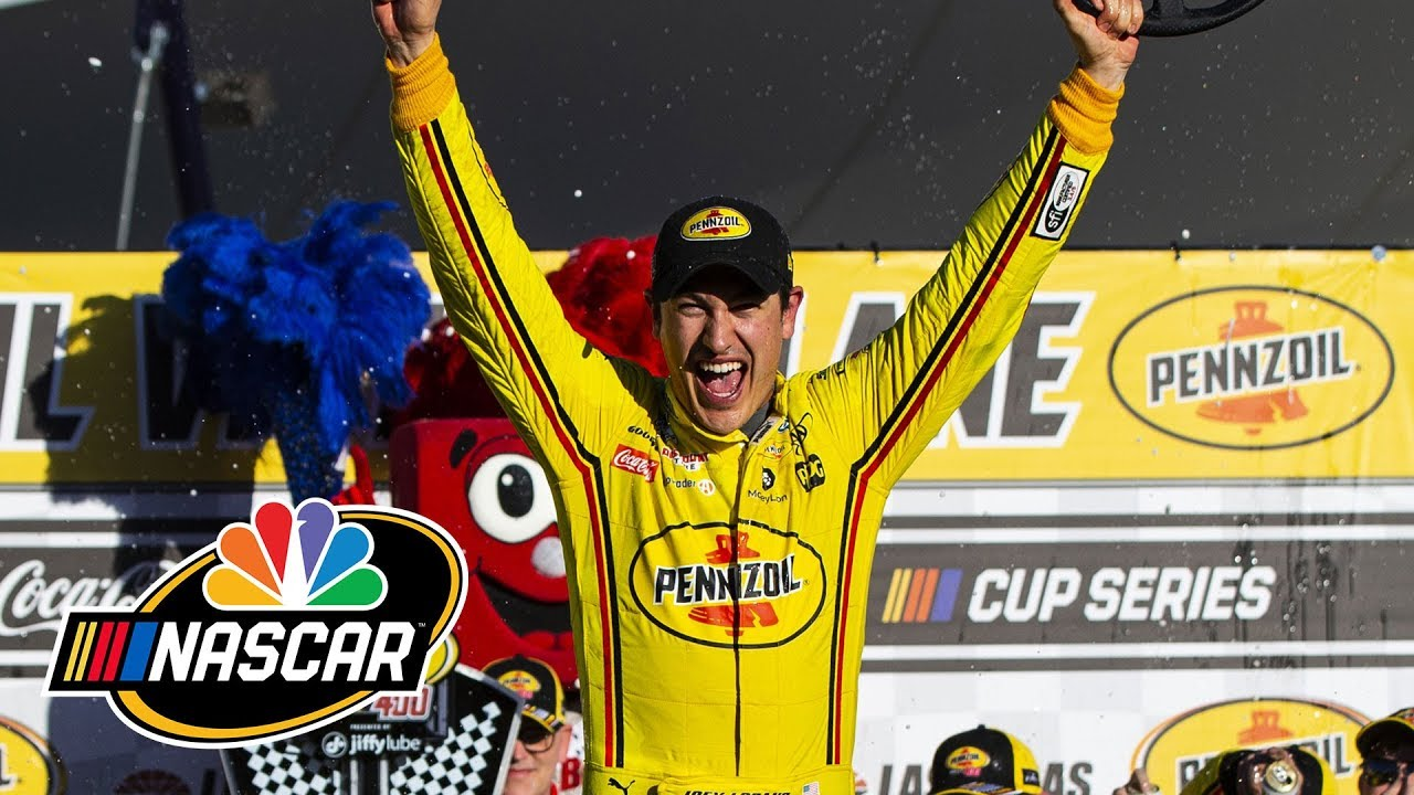 Joey Logano wins Pennzoil 400 at Las Vegas Motor Speedway
