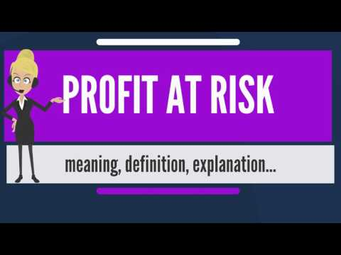 What is PROFIT AT RISK? What does PROFIT AT RISK mean? PROFIT AT RISK meaning & explanation