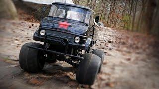 Tamiya Minibüslerle Wheelie İkinci 1 Çalıştırmak - CW-01 Atlama Eylemi