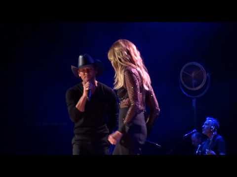 "Tim McGraw And Faith Hill  ""We've Got Tonight"" 10-04-16"