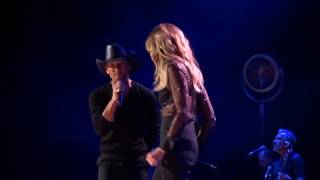 "Tim McGraw and Faith Hill  ""We've Got Tonight"" 10-04-16"