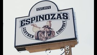 SPEED-KINGS VISITS: ESPINOZA'S LEATHER