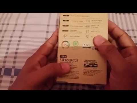Unboxing Galaxy s5 Mini Duos- SM G800H/DS