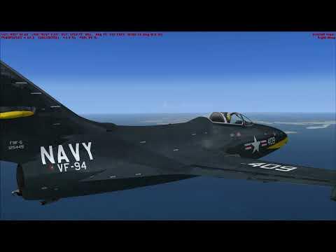 Flight Sim Historian Episode XL: Grumman F9F-5 Panther