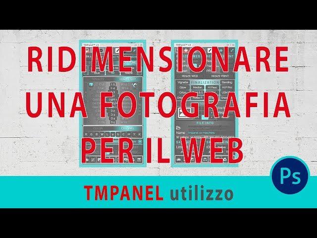 Ridimensionare una fotografia per il web