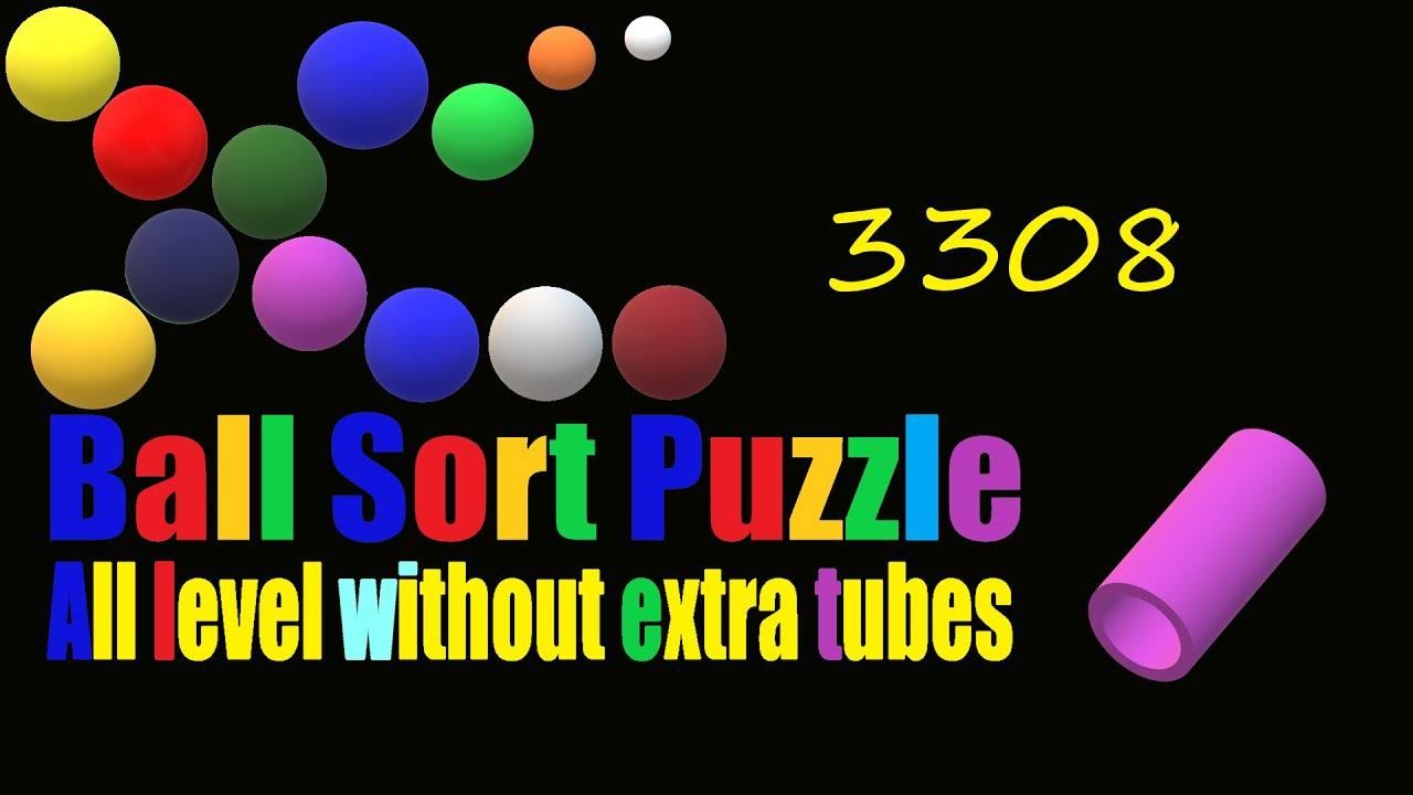 Ball Sort Puzzle Level 3308  All level without extra tube  Game  Walkthrough  - YouTube