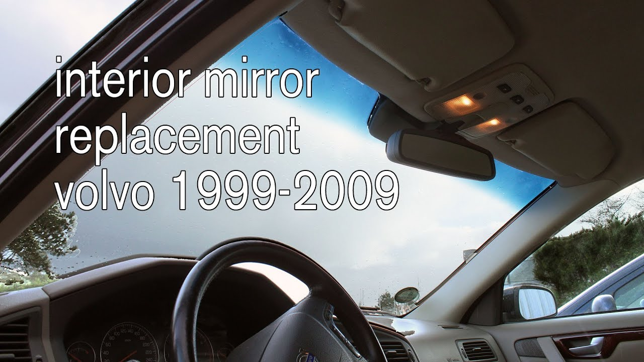 How To Remove Rear View Mirror >> 9499432 Interior rear view mirror replacement P2 models ...
