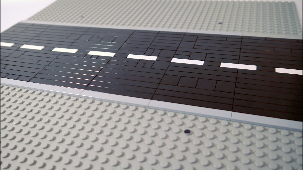 How To Build A Lego Road Youtube