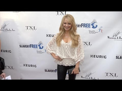 Charlotte Ross  Human Rights Hero Awards Red Carpet Arrivals