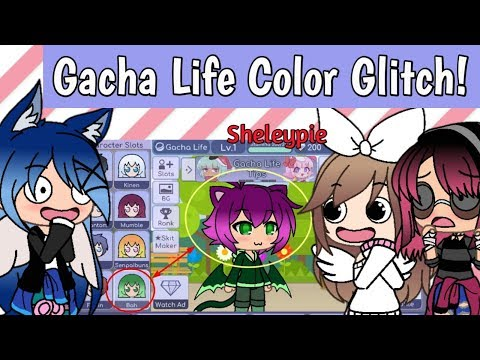 Gacha Life Color Glitch Shout Out Youtube